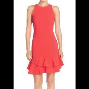 NWT Chelsea 28 Tiered Ruffle Hem Mini Dress Sz 8